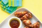 Цыпленок барбекю в соусе из коричневого сахара