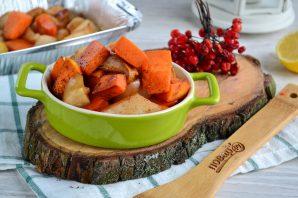 Блюдо из сладкой тыквы