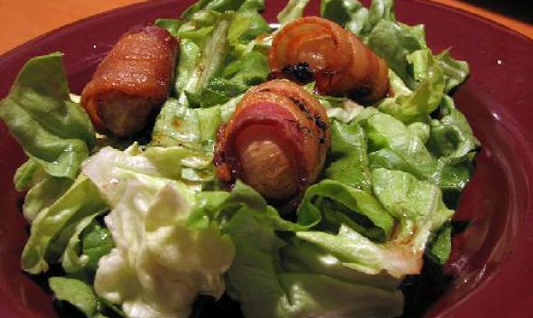 Рецепт Свинина с салатом Cipollini