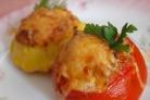Фаршированные помидоры рыбой
