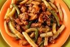 Курица с фасолью по-китайски