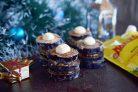 Башенки из баклажан с орехами