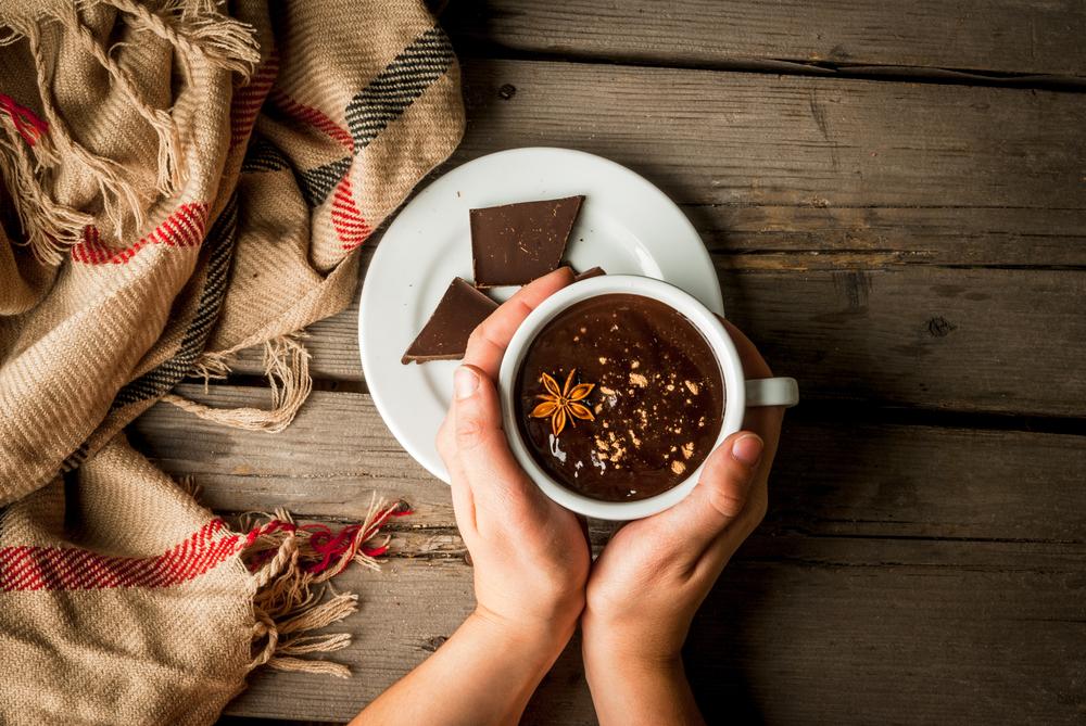 Горячий шоколад с добавками