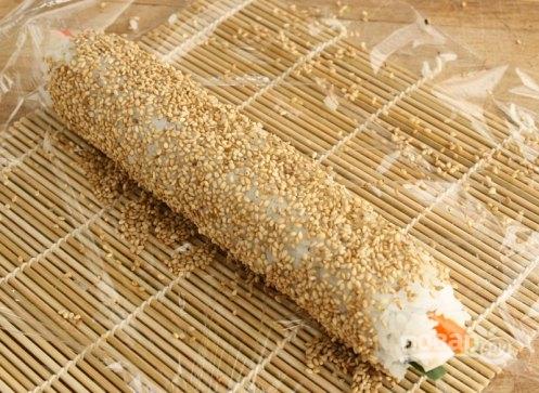 Рецепты роллы с кунжутом
