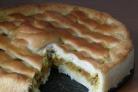 Постный дрожжевой пирог