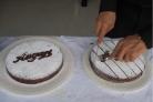 Шоколадный торт с цедрой