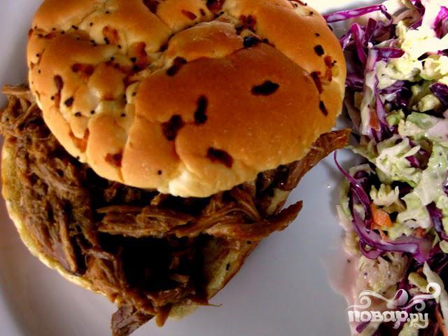 Сэндвич барбекю со свининой