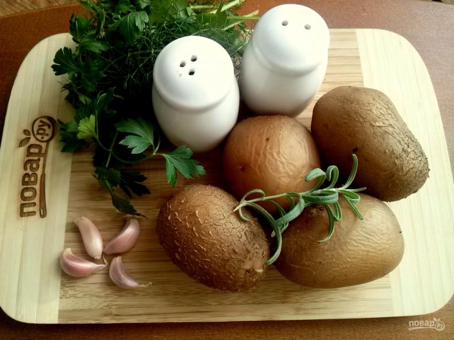 """Чесночный картофель """"Обалденный"""""""