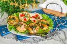 Тарталетки с морепродуктами на Новый год