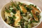 Салат в омлете