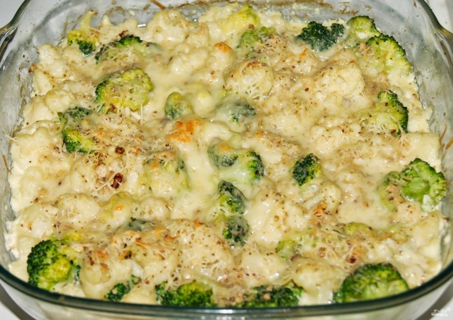 запеканка с сыром в духовке из цветной капусты