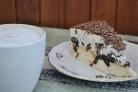 Творожный торт с черносливом