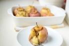 Запеченные яблоки с бананом