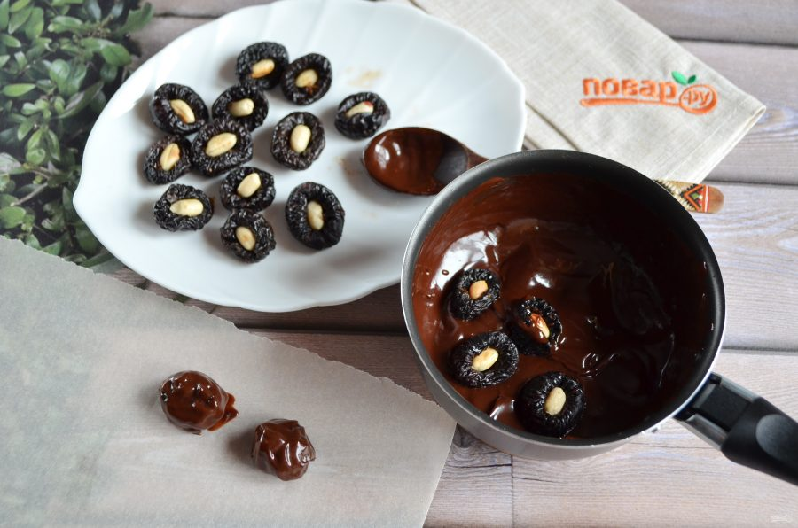 Как сделать домашние шоколадные конфеты