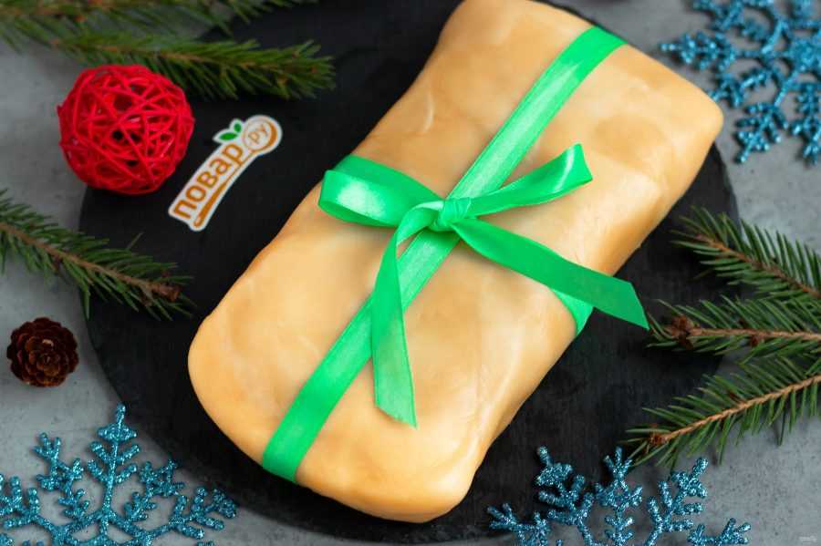 """Салат """"Новогодний подарочек"""""""