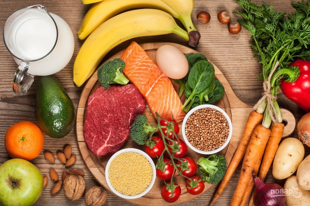Продукты для сбалансированного питания
