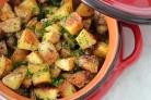 Картофель, запеченный с травами