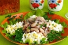 Салат из консервированной сардины