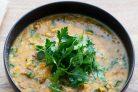 Суп с бараниной, тыквой и перловкой