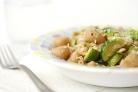 Паста с брюссельской капустой и кедровыми орешками