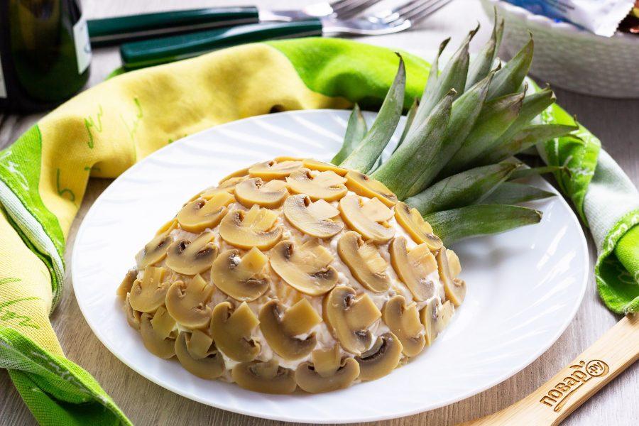 салат ананас рецепт и фото также прекрасное