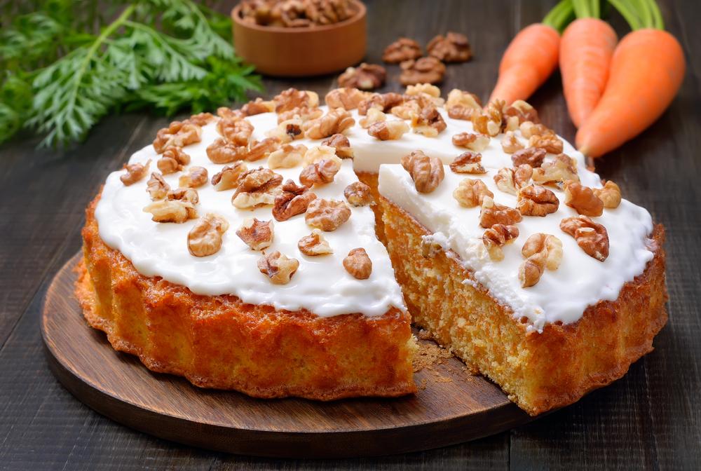 Пышный морковный пирог из правильного дрожжевого теста