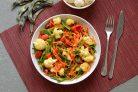 Тушеные овощи для похудения