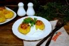 Картофельные колобки с фаршем