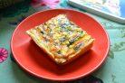 Пирог с фетой и шпинатом