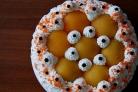 Торт с консервированными персиками