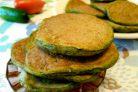 Панкейки из огурцов и листового салата