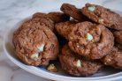 Мятно-шоколадное печенье