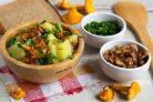 Деревенский суп с лисичками
