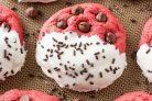Печенье Красный бархат с белым шоколадом