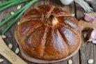 Тыквенный хлеб с гречневой мукой