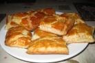 Пирог с брюшками лосося