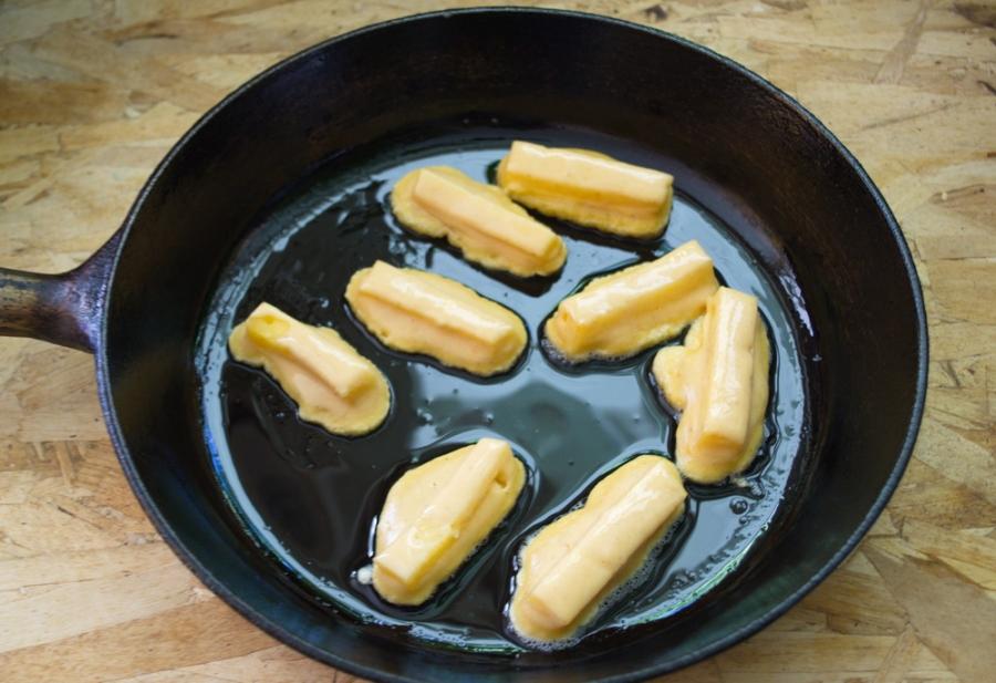 Сыр в пивном кляре