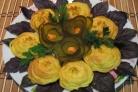 Картофельные цветочки