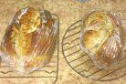 Амарантовый хлеб на закваске