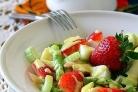 Салат из спаржи и курицы