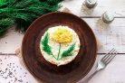 Салат Одуванчик с сыром