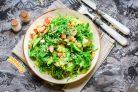 Крабовый салат с чукой