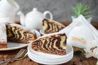 Торт Зебра на сметане