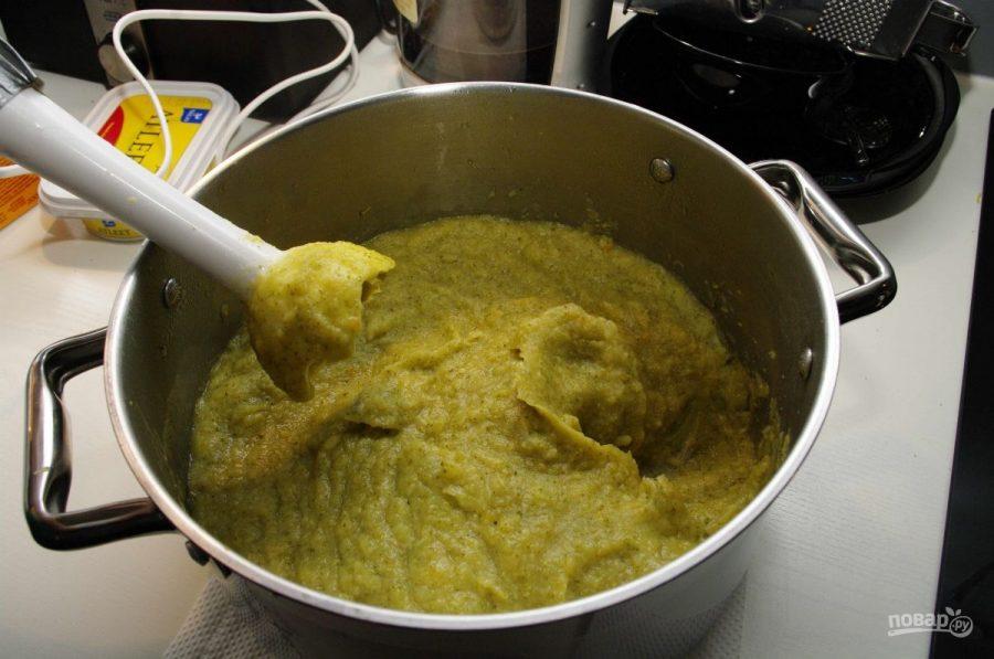 Овощной суп-пюре с брокколи