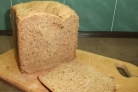 Домашний постный хлеб