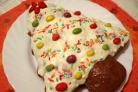 Праздничный пирог Елочка