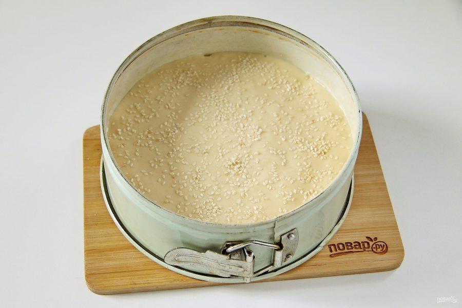 Готовим заливной пирог на кефире