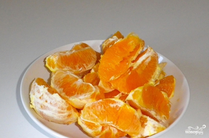 Желе из апельсинового сока