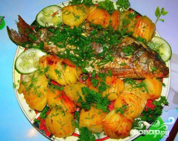 рецепт блюд из рыбы с фото