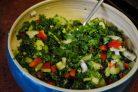 Быстрый салат с кале